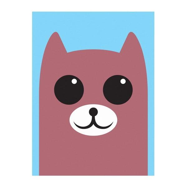 Plakát Medvěd Hnědý, A3