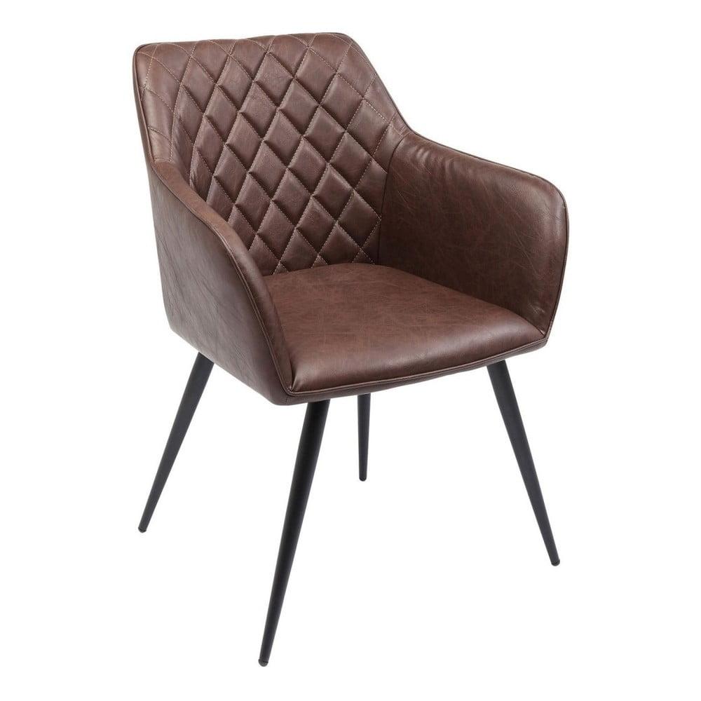 Sada 2 šedých židlí Kare Design San Remo