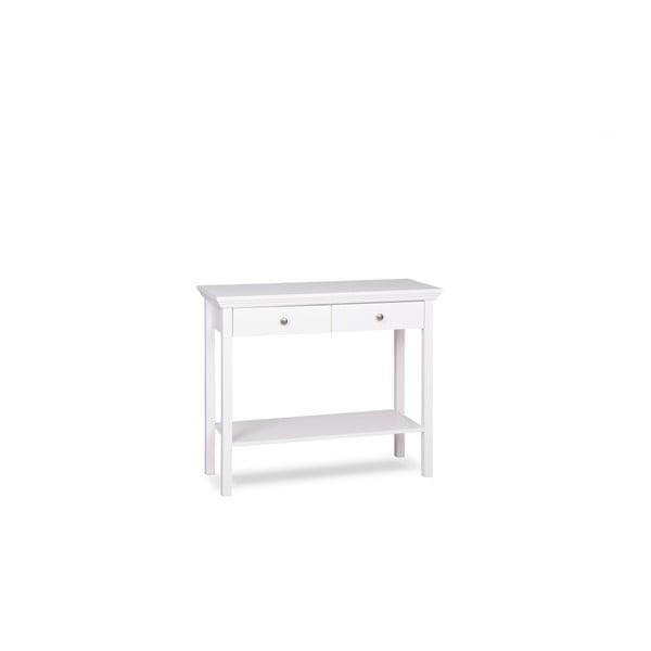 Bílý konzolový stolek Intertrade Landwood