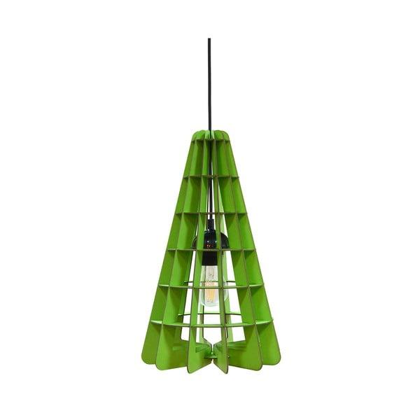 Svítidlo Conic, zelené