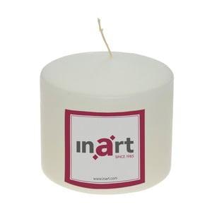 Krémově bílá svíčka InArt, výška 10 cm