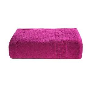 Tmavě růžový bavlněný ručník Kate Louise Pauline,50x90cm
