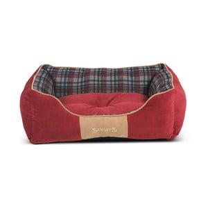 Psí pelíšek Highland Bed 60x50 cm, červený