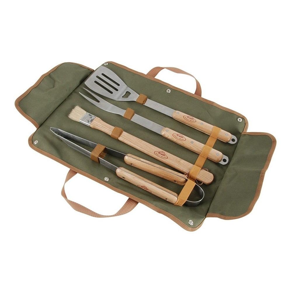 Set ručních nástrojů na grilování a pouzdra Esschert Design BBQ