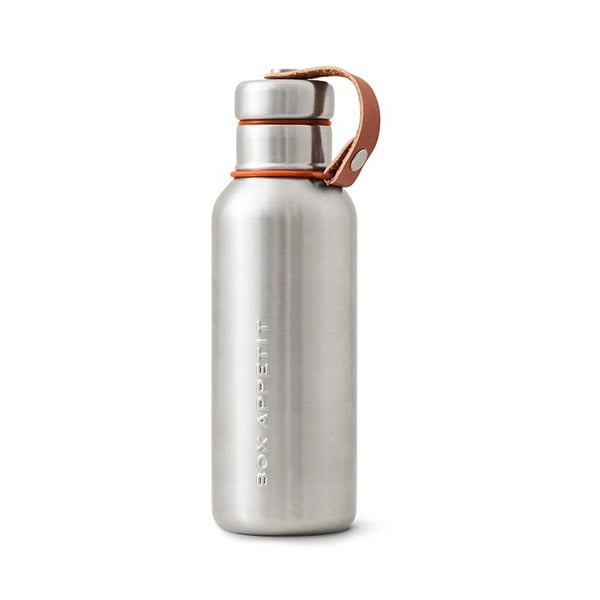 Oranžová dvojstenná antikoro termofľaša Black + Blum Insulated Vacuum Bottle, 500 ml