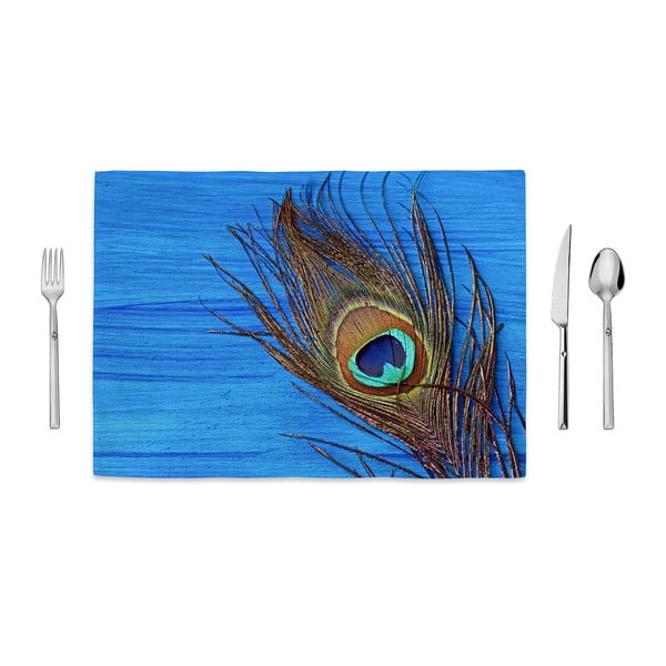 Prostírání Home de Bleu Tropical Peacock, 35 x 49 cm