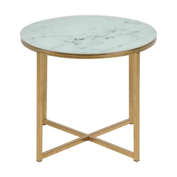 Odkládací stolek Actona Alisma, ⌀ 50 cm