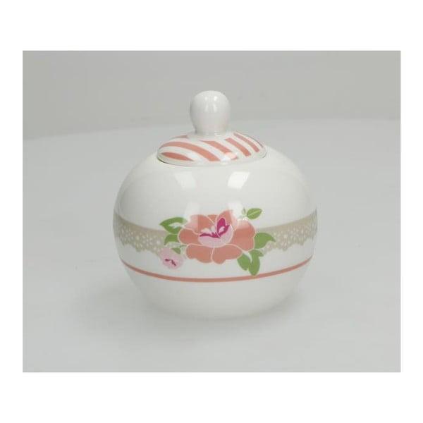 Cukierniczka z porcelany kostnej Brandani Peonia