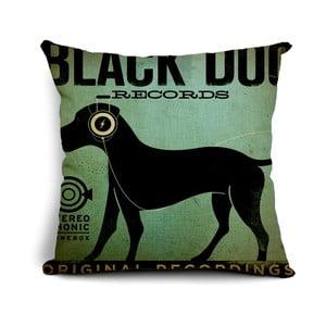 Polštář Black Dog, 45x45 cm