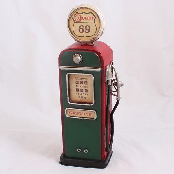 Pokladnička Benzínová pumpa, zelená