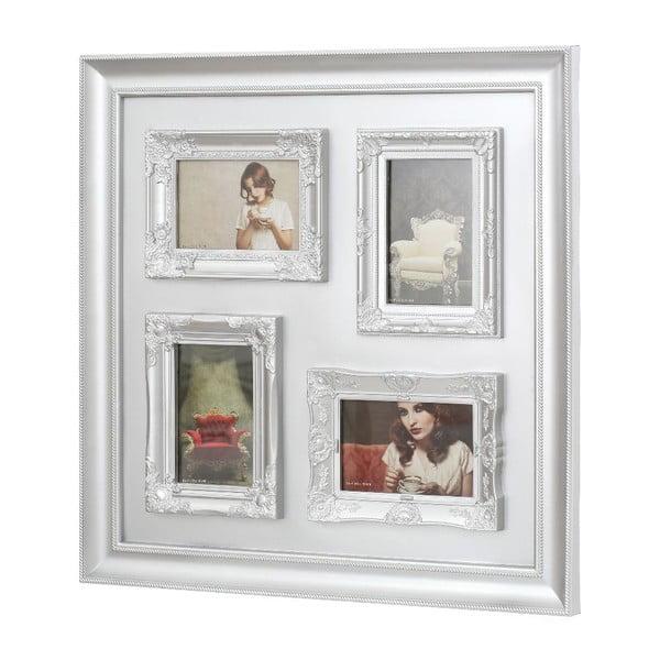 Multi fotorámeček White, 53x53 cm