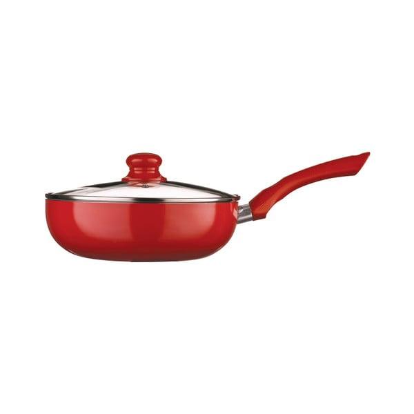 Panvica s pokrievkou Premier Housewares Ecocook Red, 3,6l