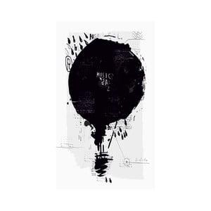 Obraz Black&White Baloon,41x70cm
