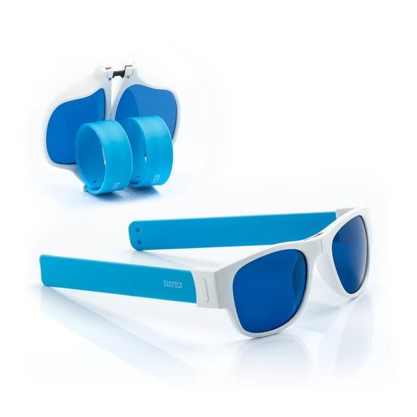 Modré sluneční srolovatelné brýle InnovaGoods Sunfold AC2