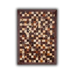 Koberec z pravé kůže Grabados, 140x200 cm