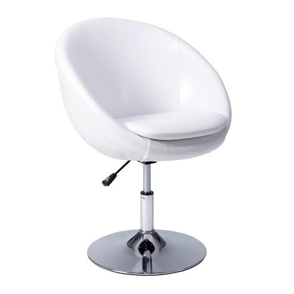 Bílá židle Mauro Ferretti Di Altezza