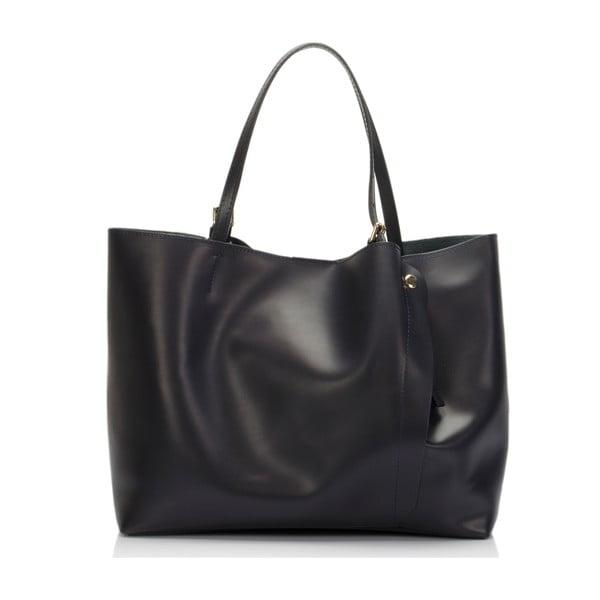Modrá kožená kabelka Lisa Minardi Eunice