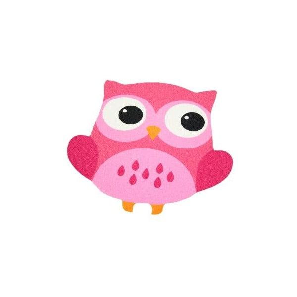 Owl rózsaszín gyerekszőnyeg, 100 x 100 cm - Zala Living
