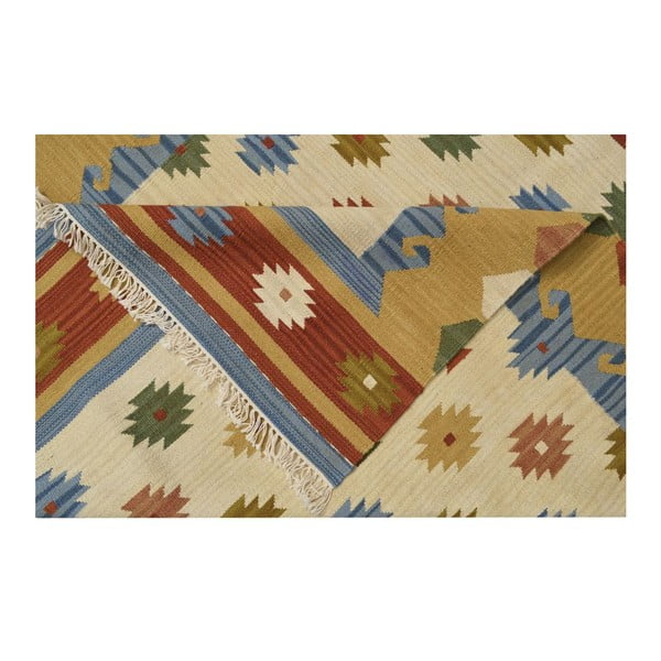 Ručně tkaný koberec Kilim Classic K15 Mix, 155x215 cm
