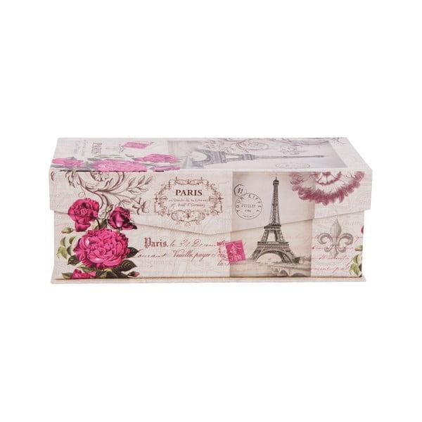 Sada 3 úložných krabic In Paris