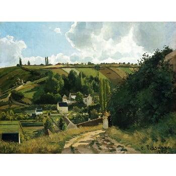 Reproducere tablou Camille Pissarro - Jalais Hill Pontoise, 80 x 60 cm poza