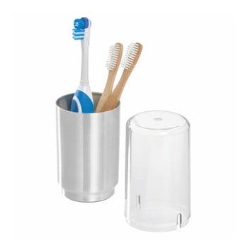 Pahar cu capac pentru periuțele de dinți iDesign Austin de la iDesign