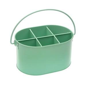 Zelená kovová dóza na lahve Versa Green Cutlery