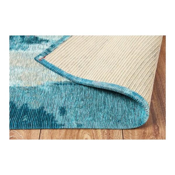 Modrý koberec Eco Rugs Xavy, 80x150cm