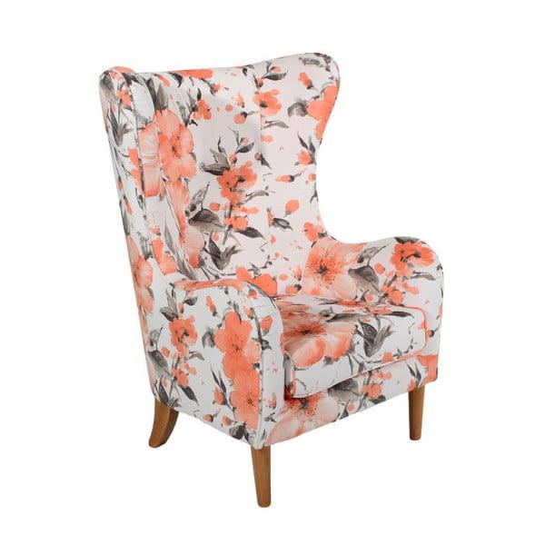 Miriam Salmon Roses füles fotel - Max Winzer