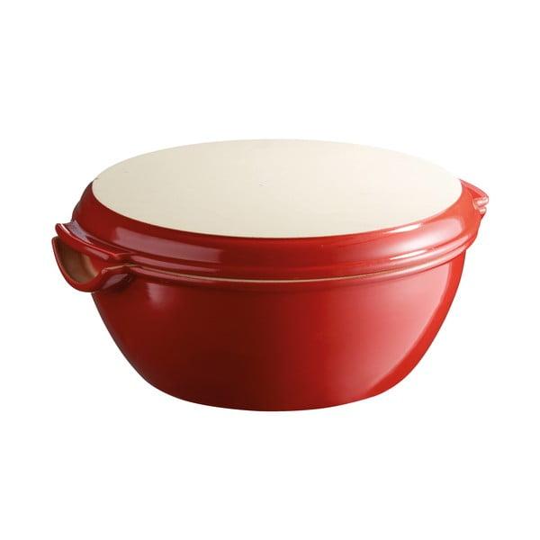 Formă rotundă pentru pâine Emile Henry, ⌀ 29,5 cm, roșu