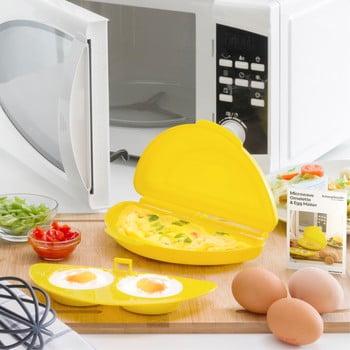 Recipient pentru făcut omletă la cuptorul cu microunde InnovaGoods imagine