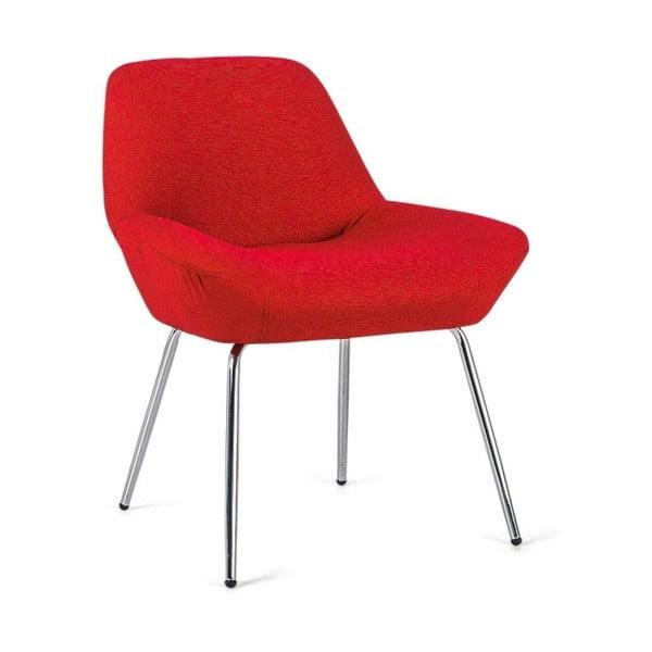 Červená židle Design Twist Taba