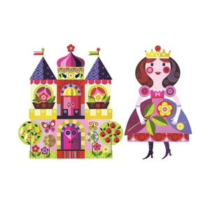 Samolepka Princess & Castle Small
