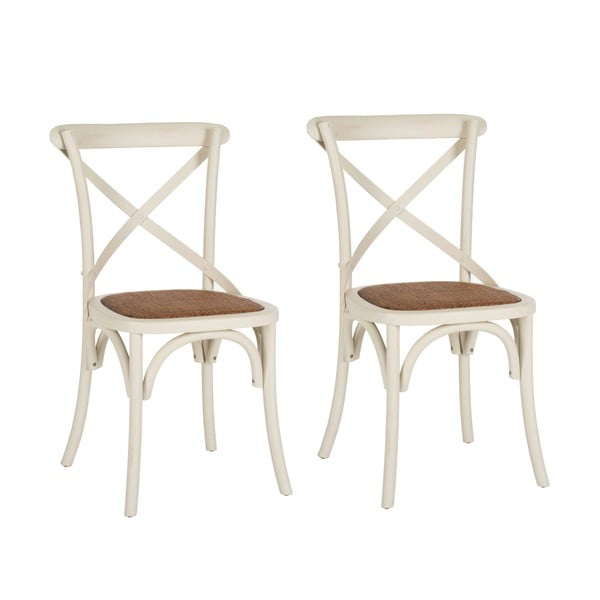 Sada 2 židlí Safavieh Jack X-Back