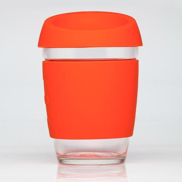 Cestovní hrnek na kávu Joco Cup 340 ml, oranžový