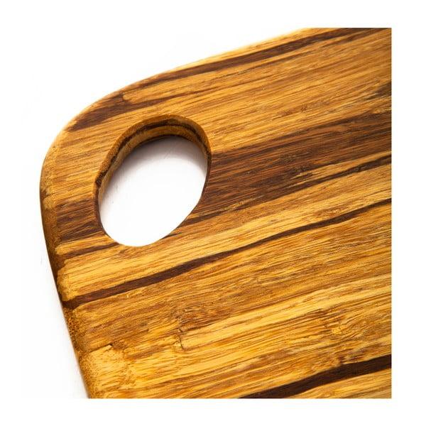 Bambusové prkénko na krájení Bambum, 30x23 cm