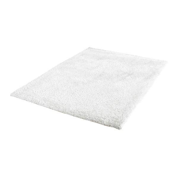 Bílý ručně vyráběný koberec Obsession My Touch Me Whit, 60 x 110 cm