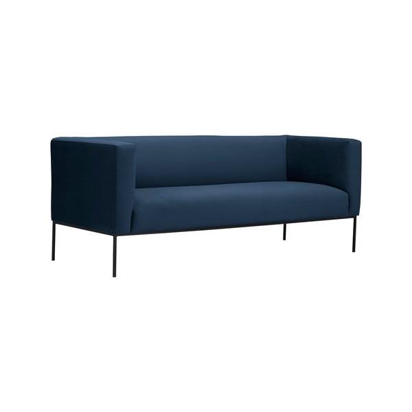 Tmavě modrá trojmístná pohovka Windsor & Co Sofas Neptune