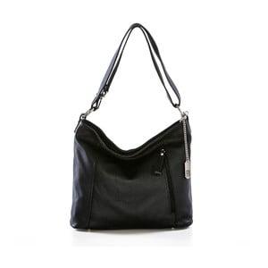 Černá kabelka z pravé kůže Federica Bassi Frio