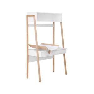 Bílý stolek s přebalovacím pultem KICOTI Space