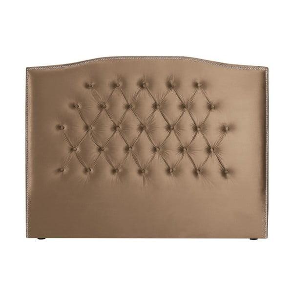 Tmavě béžové čelo postele Mazzini Sofas, 200 x 120 cm
