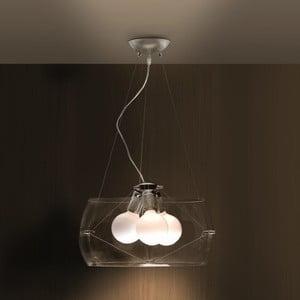 Stropní světlo Faro, transparentní