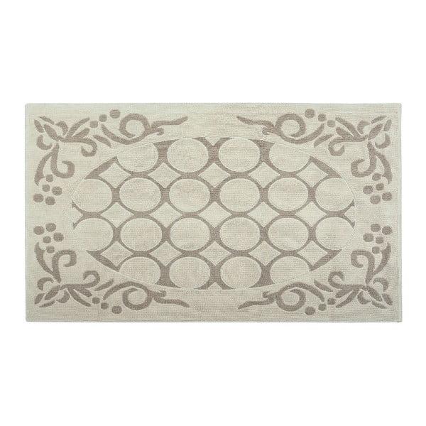 Bavlněný koberec Mirao 80x300 cm, krémový