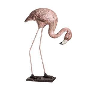 Dekorativní soška Denzzo Flamingo, výška80,5cm