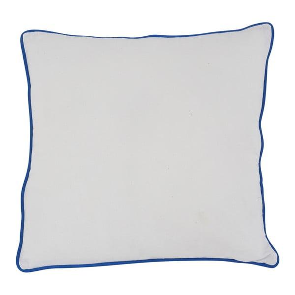 Polštář White Piping, 45x45 cm