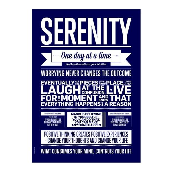 Autorský plakát Serenity Marine, 50x70 cm