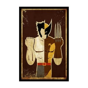 Plakát Brown Hero, 35x30 cm