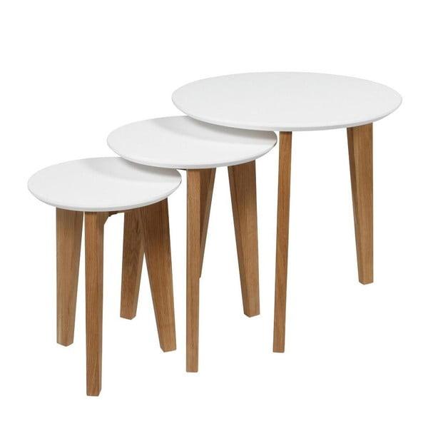 Sada 3 kávových stolků Abin