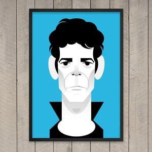 Plakát Lou Reed, 29,7x42 cm