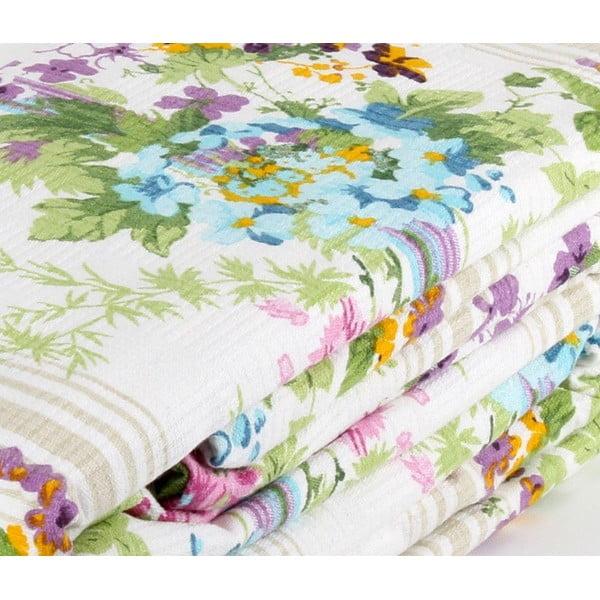 Fialový přehoz přes postel Love Colors Sarah, 200 x 240 cm